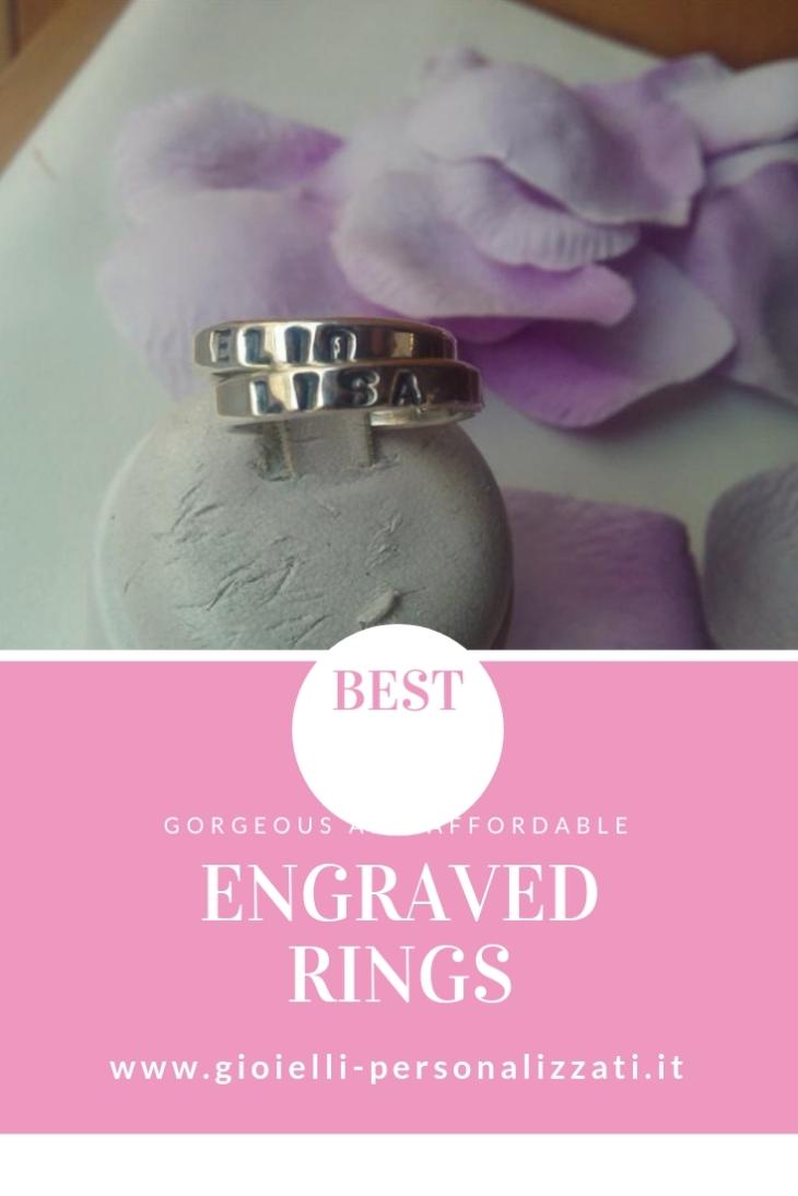 Inspiration For Engraved Rings On Wedding | John Topics